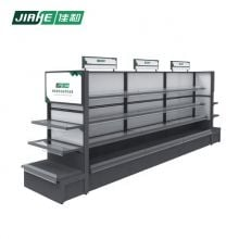 Shop Shelf Display Stand and Cosmetic Display Stand with LED Lights Used in Supermarket