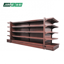 Double-side Multiple Gondola Shelving Storage Equipment with Drawers for Store Display Fixture