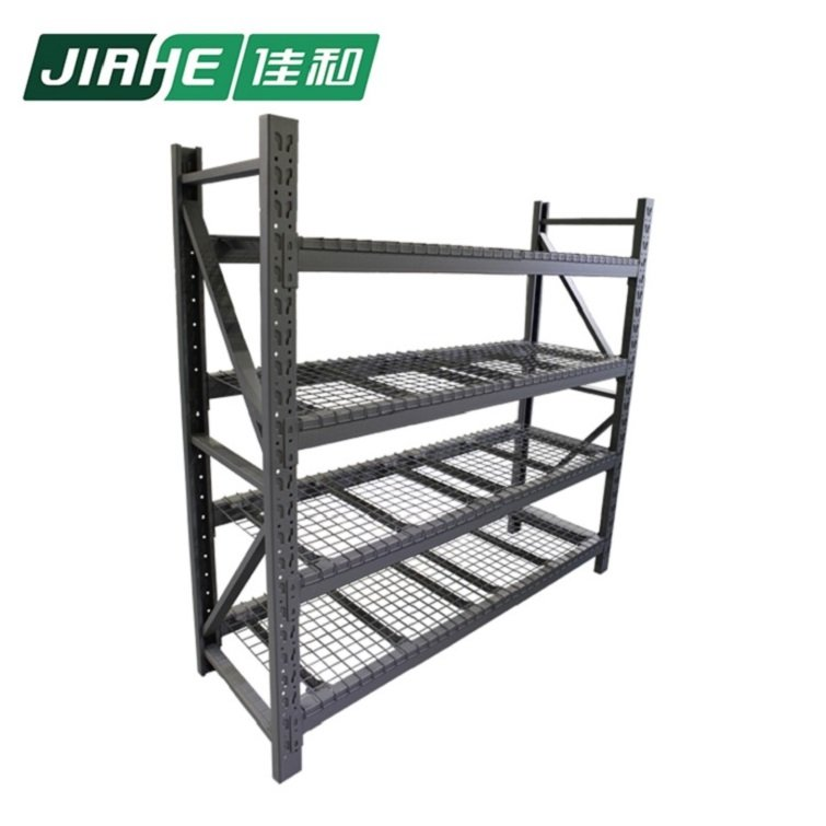 Boltless Rivet Steel Shelving and Medium Duty Rack with Wire Decking used in Warehouse