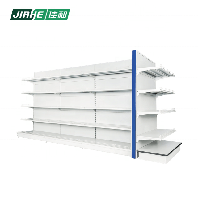 Double-sided Wholesale Display Metal Stand Used in Convenience Store Equipment