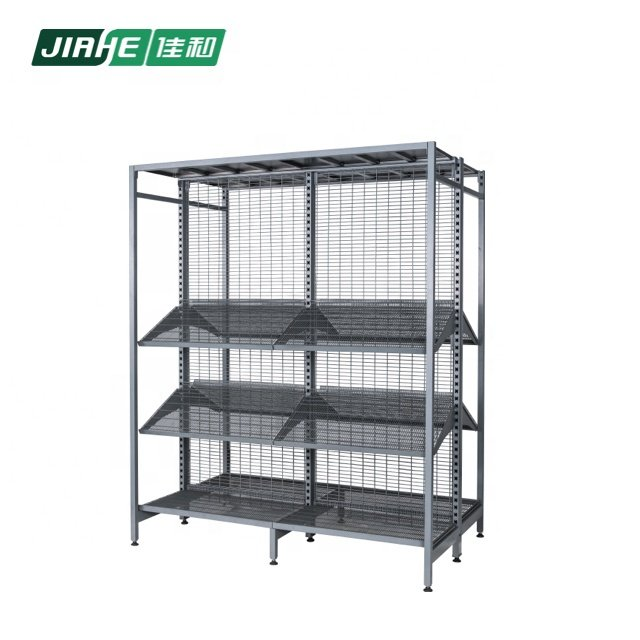 Australia Style Outrigger Retail Wire Display Supermarket Equipment Rack