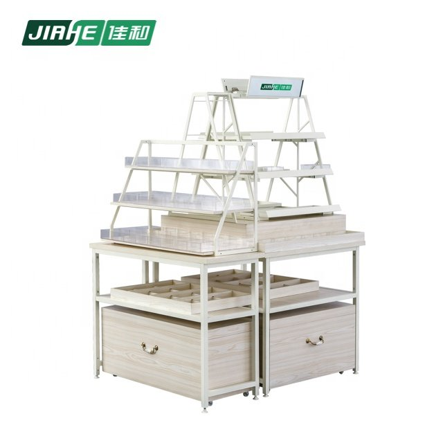 Beauty Products Wall Supermarket Shelving and Store Equipment for Cosmetics Display Stand